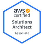 Badge AWS Solutions Architect Associate