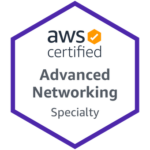 Badge AWS Advanced Networking Speciality