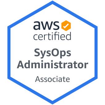 Badge AWS SysOps Administrator Associate