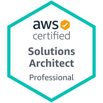 Badge AWS Solutions Architect Porfessional